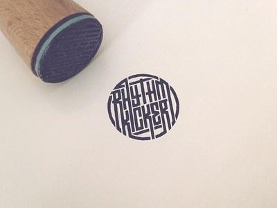 RK stamp by Jonas #circular #logo #stamp #branding