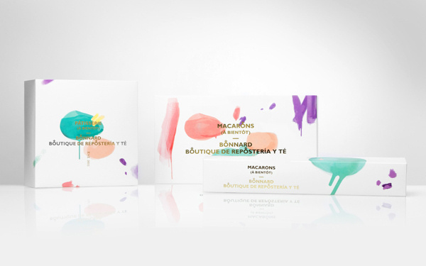 Bonnard Packaging/ Business Cards #branding