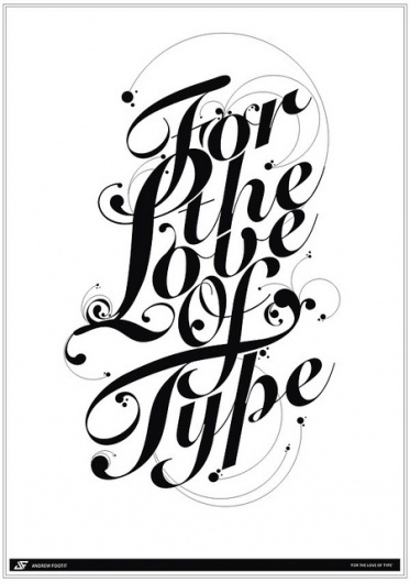 I'm thinking #white #design #black #poster #and #typography