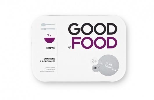 Face. Works. / Good Food. #packaging #food #designbyface #face #good