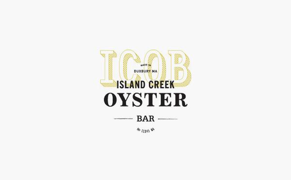 island creek oyster bar logo design #logo #design