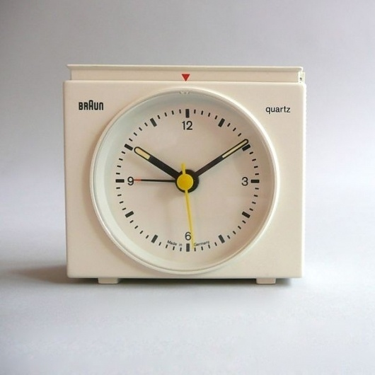 Braun electrical - Household - Braun AB 21/ s #design #industrial #braun #vintage #rams #1970s #clock #dieter