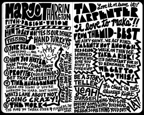 typography #drawn #hand #typography