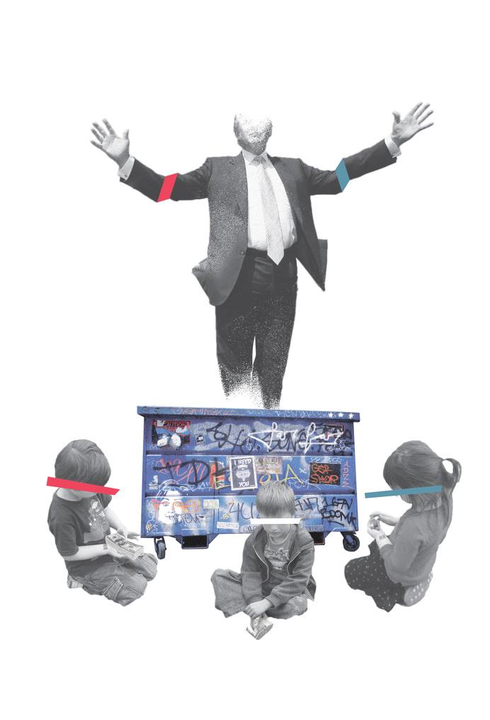 Trump Collage for Otis Mcdonald's Far Far Away track - John Sippel | vltrr vltrr.com
