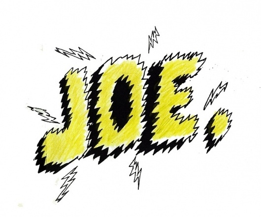 annelint.com #handmade #joe #typography