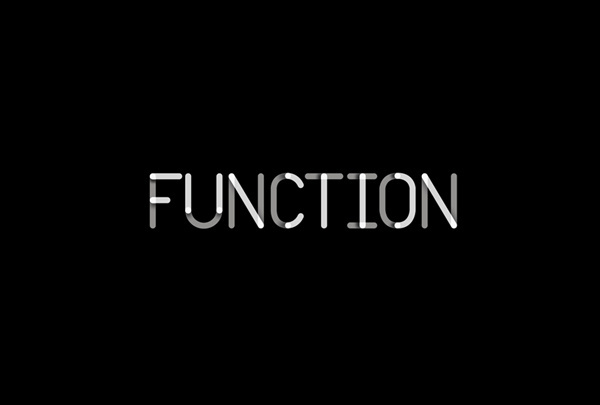 Logo for Function Engineering designed by Sagmeister & Walsh #function #sagmeister