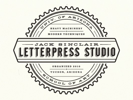 jack-sinclair-letterpress-studio-logo-blogpost.gif (640×480) #logo #jack #letterpress #sinclair