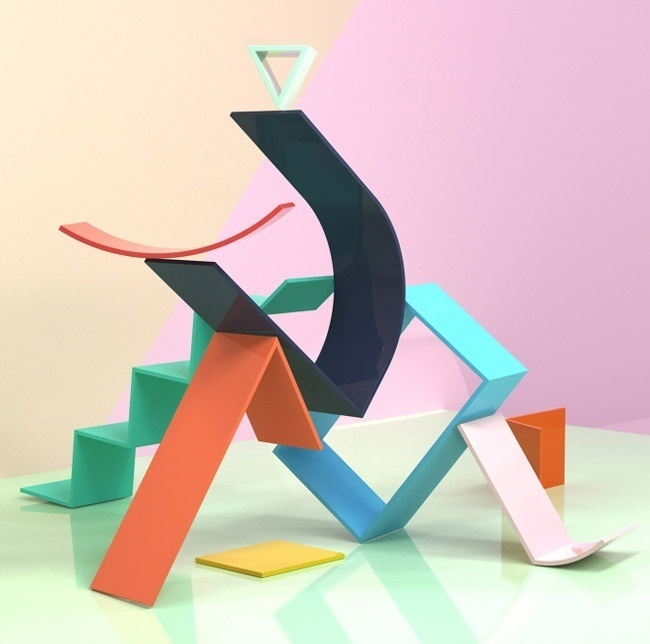 OGN Project transform the wall into a playground for line and color - www.homeworlddesign. com (2) #design