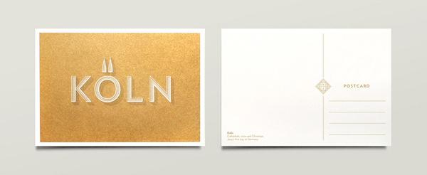 Jono Garrett: Wedding Materials / on Design Work Life #postcard #design #graphic