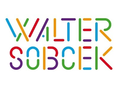 Dribbble - Walter by Sveinn Davidsson #walter #colorful #sobcek #logo #typography