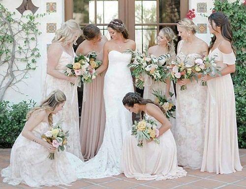 bridesmaid proposal bride bridesmaids wedding style