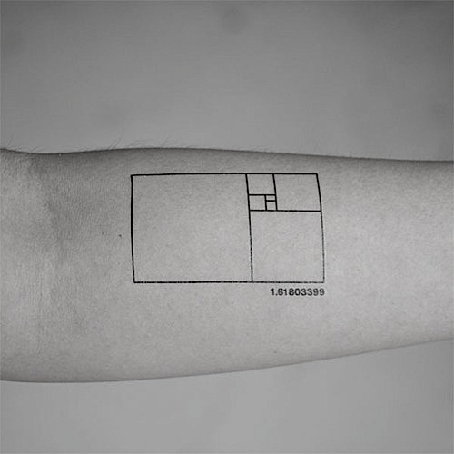 Tittysandpancakes #fibonacci #rule #tattoo #618 #golden