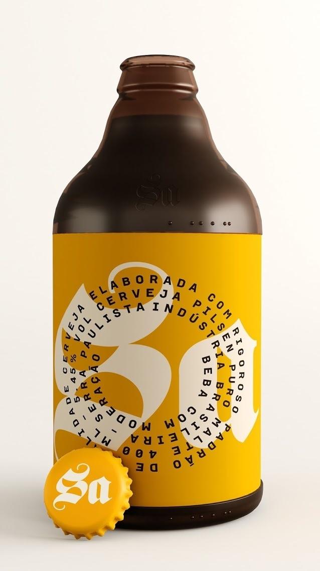 Sa Pilsen Beer #packaging #beer
