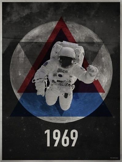 Poster, 1969 | Victor Samaue #retro #minimal #poster