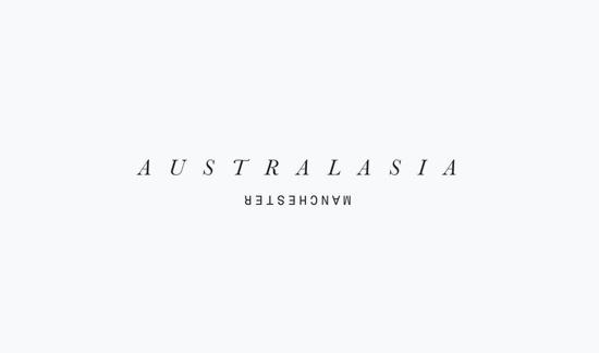 Australasia logo #logo #design