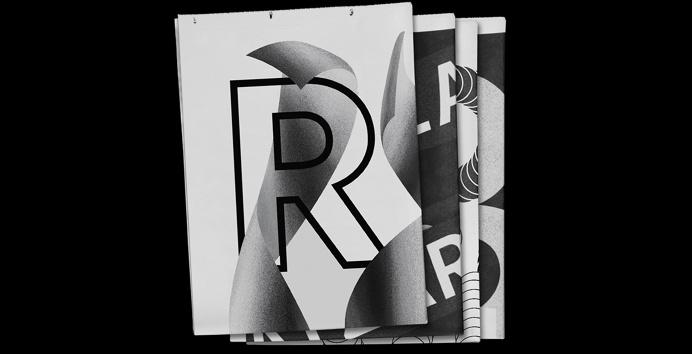 typography font minimal black white design designer letter letters experimentation modern beauty beautiful mindsparkle mag