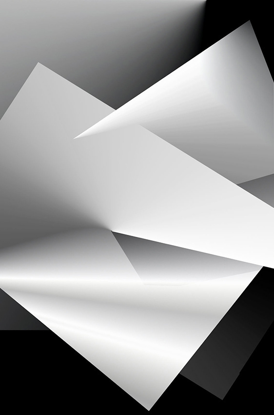 black and white series #geometry #grayscale #graphic #illustration #art