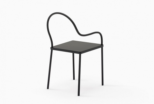 nendo: black&black collection for K% #chair