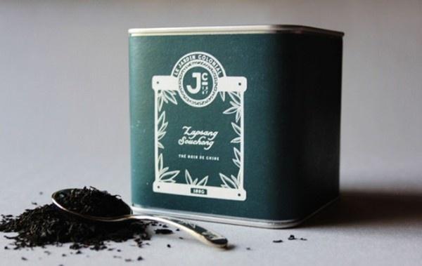 Le Jardin Colonial Branding 21 #design #graphic #tea