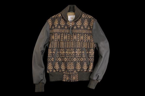 golden bear unionmade navajo varsity jacket 2 #fashion #mens #jacket #design
