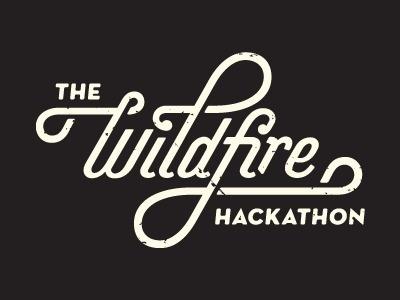 Hackathon_clean #hackathon #lettering #script #wildfire
