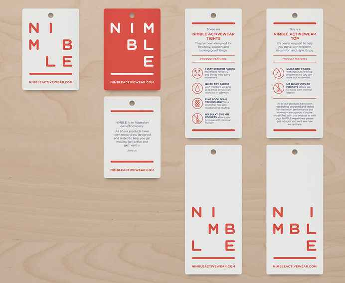 New Logo and Identity for Nimble by Christopher Doyle & Co. #logo #branding