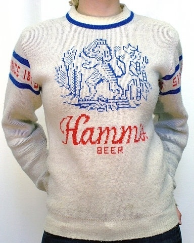 FFFFOUND! | Flickr Photo Download: Hamms Beer Sweater #design #graphic