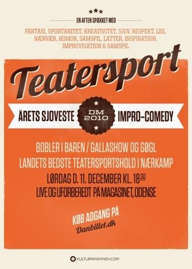 M—B Type & Design #poster #typography