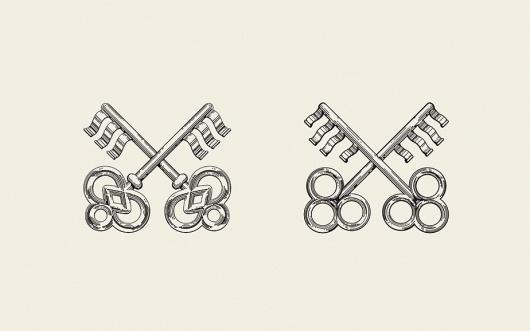 Anagrama | Sofia by Pelli Clarke Pelli Architects / Bench.li #illustration #keys