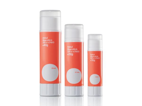 Askul Glue Packaging | Stockholm Design Lab #glue #askul #tube