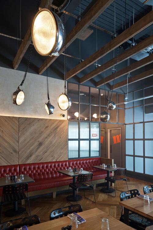 Jamie-s-Italian-in-Westfield, Stratford-City-Blacksheep-Jamie-Oliver-photo-Gareth-Gardner-Yatzer-GHH #interior #design #restaurant