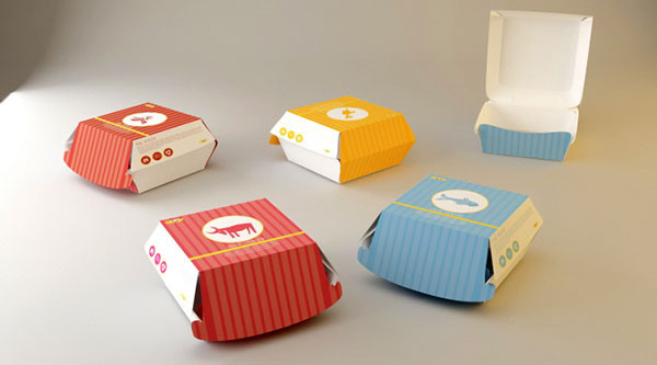 Boof Fast Food Branding by Javad Tizmaghz