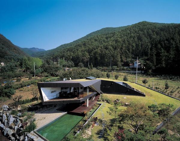 Staggering Landscape Oriented Design Showcased in Korea #architecture