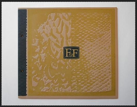Kendrick Kidd #letterpress #book #ampersand #cover #brochure