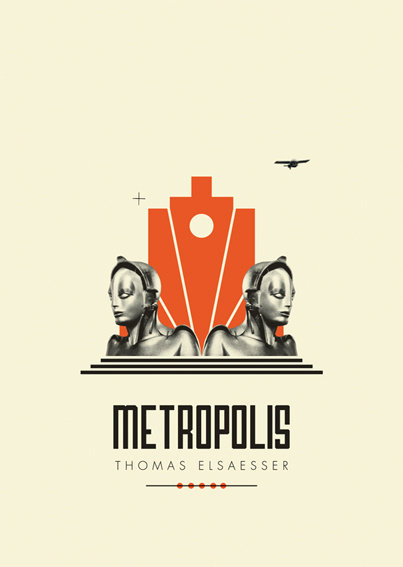 FOTOLITO — + British Film Institute #illustration #metropolis