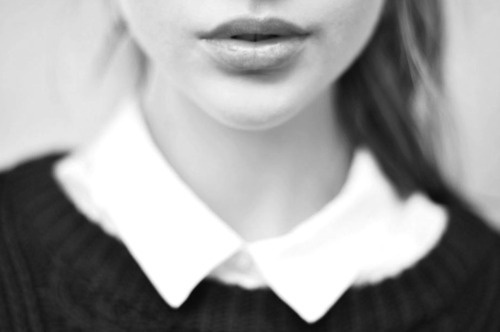 merde petit maitre:Photography #white #lips #black #photography #portrait