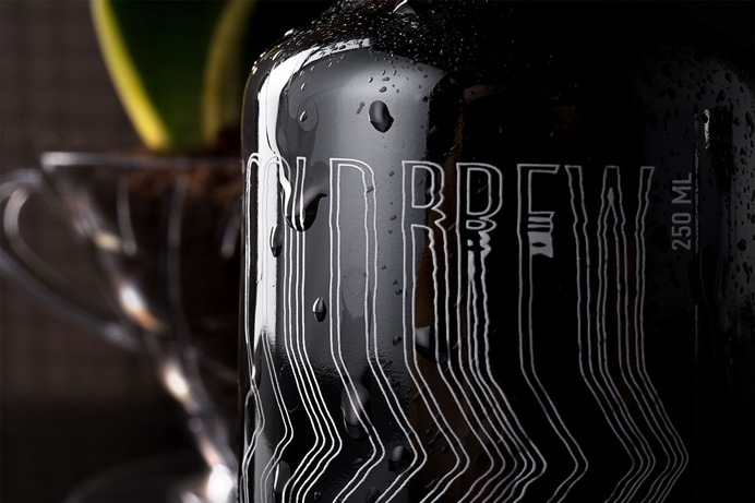 Taresso Cold Brew Packaging - Mindsparkle Mag Taresso designed by Luminous Design Group is a superior quality coffee processing and distribution company. #logo #packaging #identity #branding #design #color #photography #graphic #design #gallery #blog #project #mindsparkle #mag #beautiful #portfolio #designer