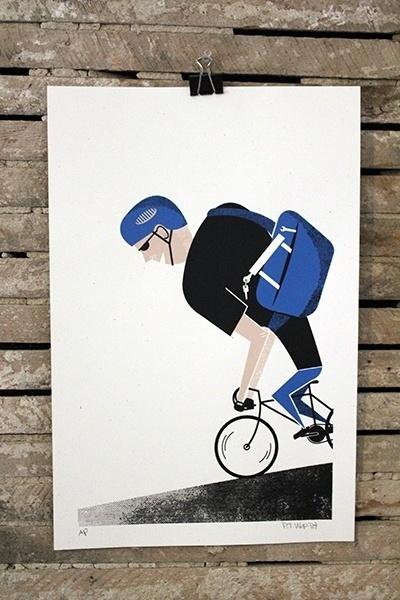 Biiklops 2012 | Peter Worth Art & Design #print #worth #screen #peter #poster #biiklops
