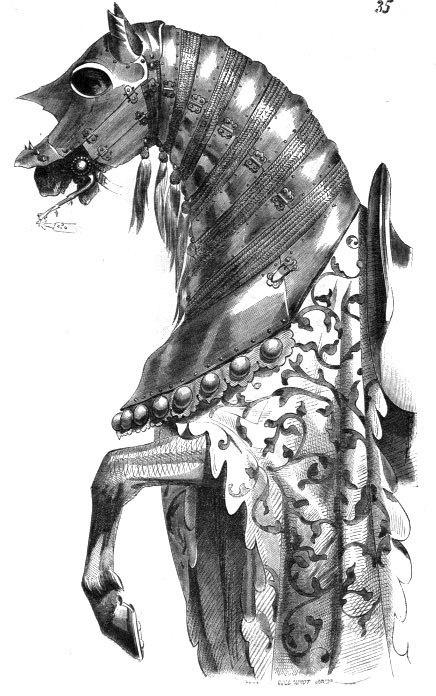 Knight Attire #illustration #horse