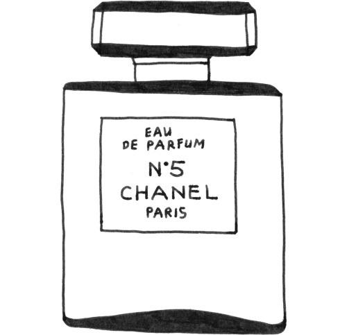 Chanel N°5 #illustration #drawing #chanel #fashion #perfume #design #n5 #5