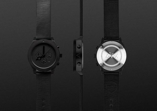 AÃRK Collective   Iconic Graphite #clock #watch
