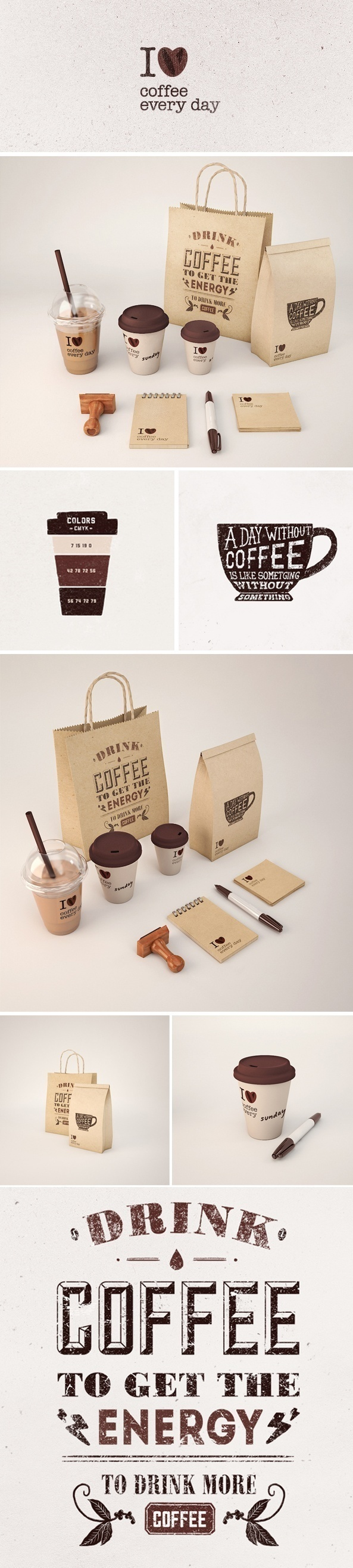 Let's meet for coffee #identity #packaging #branding PD