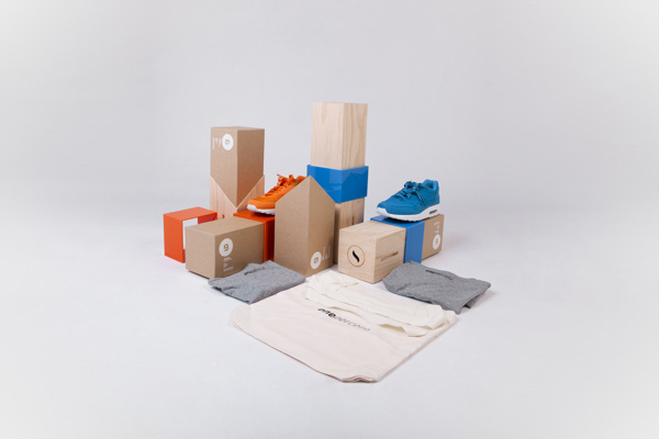 one percent packaging on Behance #packaging #shoes