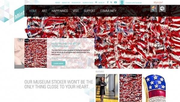 Mint museum #vnwebdesigner