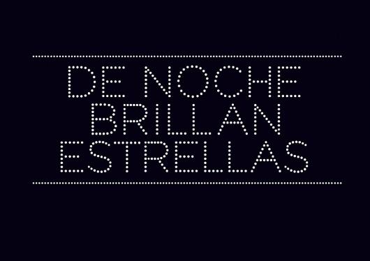 Esteve Padilla   ohhh.ws #tipografia #typeface #gotham #noche