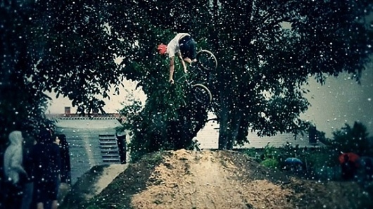 Slow Motion BMX Footage « Onestep Creative #bmx #motion #photography #slow #dirt