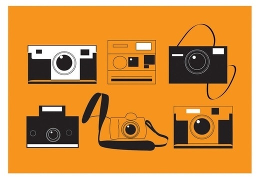 Cameras on the Behance Network #illustration #design