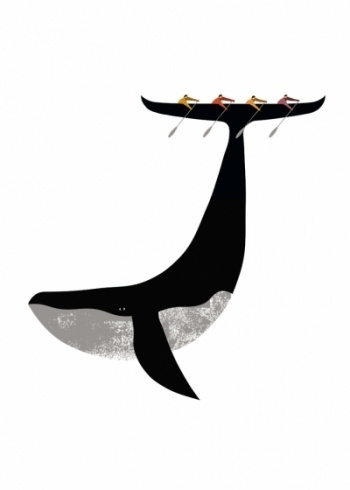 imrpimi_ballenaweb__imp #whale #illustration #boat