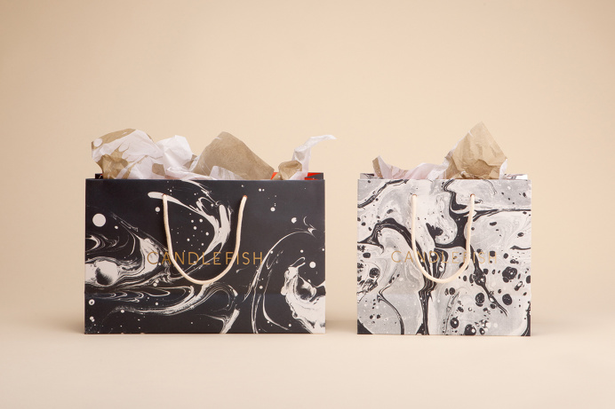 Beautiful Texture on bags #packaging #texture #pattern #paint