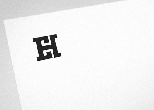 EH monogram, Mihail Mihaylov's Portfolio #mihaylov #monogram #identity #logo #mihail